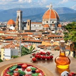 Пазл онлайн: Пицца Флоренция