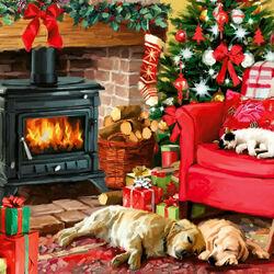 Пазл онлайн: Уютное Рождество