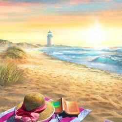 Пазл онлайн: Пляж Нантакета