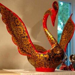 Пазл онлайн: Птица-лебедь
