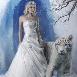 Пазл онлайн: Зимняя королева