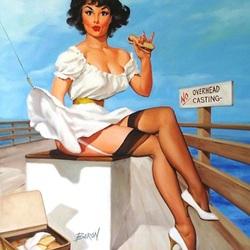 Пазл онлайн: Пикник на палубе