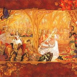 Пазл онлайн: Сказочная свадьба