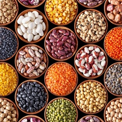 Пазл онлайн: Не только фасоль