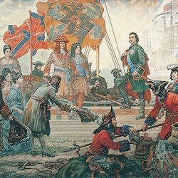 Пазл онлайн: Триумф Российского флота