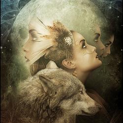 Пазл онлайн: Душа волка