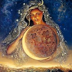 Пазл онлайн: Лунная богиня