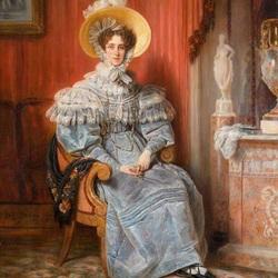 Пазл онлайн: Мария Елизавета Франциска  Баварская, принцесса Ваграме