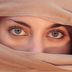Пазл онлайн: Глаза