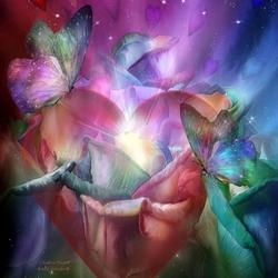 Пазл онлайн: Волшебство цветов