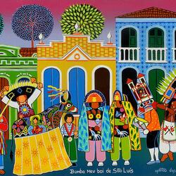 Пазл онлайн: Праздник Бумба Меу Бой в Сан-Луисе