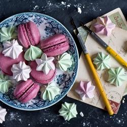 Пазл онлайн: Винтажные сладости
