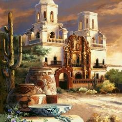 Пазл онлайн: Храм