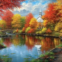 Пазл онлайн: Осенняя роскошь