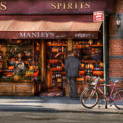 Пазл онлайн: Винный магазин Мэнли с 1934 года