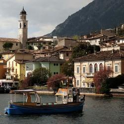 Пазл онлайн: Озеро Гарда