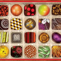 Пазл онлайн: Арт-шоколад