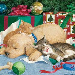 Пазл онлайн: Подарочки