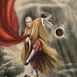 Пазл онлайн: Шаолиньский монах