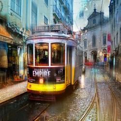 Пазл онлайн: Заграничный трамвайчик