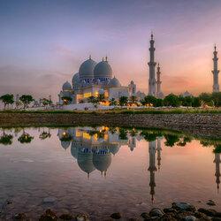 Пазл онлайн: Мечеть Зейда