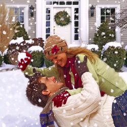Пазл онлайн: Снежный романс