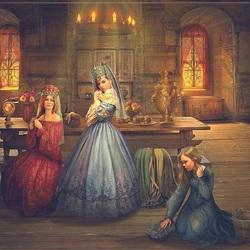 Пазл онлайн: Василиса и злые сестры