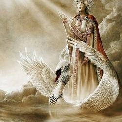 Пазл онлайн: Царевна лебедь