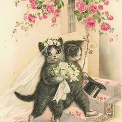 Пазл онлайн: Старинная открытка