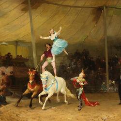 Пазл онлайн: Цирк в Париже