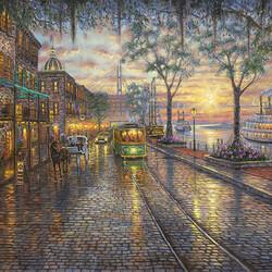 Пазл онлайн: Трамвайчик