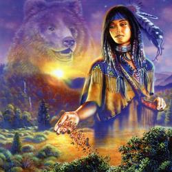 Пазл онлайн: Богиня плодородия