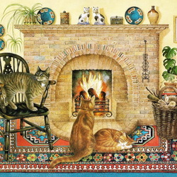 Пазл онлайн: Уют