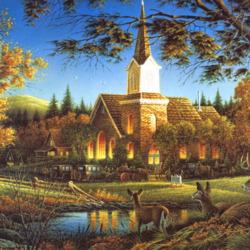 Пазл онлайн: Лесной церковный приход