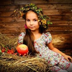 Пазл онлайн: С яблочком