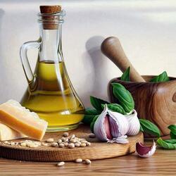 Пазл онлайн: Как приготовить соус pesto