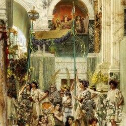 Пазл онлайн: Праздники Древнего Рима