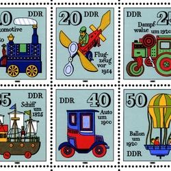 Пазл онлайн: История транспорта