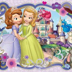 Пазл онлайн: Принцессы София и Эмбер