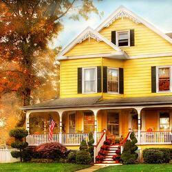 Пазл онлайн: Дом в Уэстфилде, Нью-Джерси