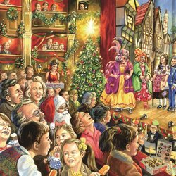Пазл онлайн: Праздничный спектакль