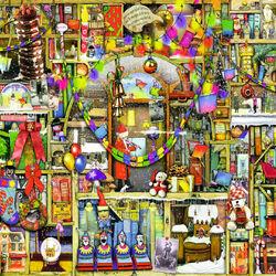 Пазл онлайн: Рождественский шкаф