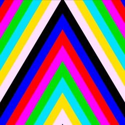 Пазл онлайн: Цветные полоски