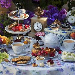 Пазл онлайн: Чай для двоих