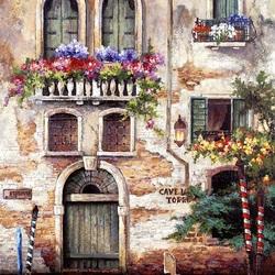 Пазл онлайн: Венецианский дом