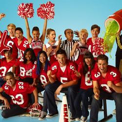 Пазл онлайн: Glee
