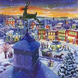 Пазл онлайн: Предрождественское время
