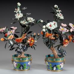 Пазл онлайн: Цветы из камня