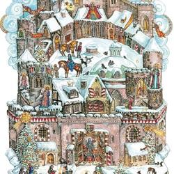 Пазл онлайн: Рождество в замке