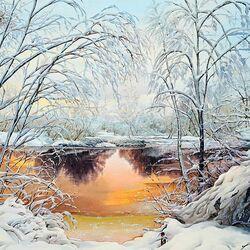 Пазл онлайн: Магия зимы